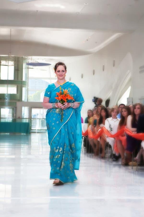 Bruidsmeisje stock foto