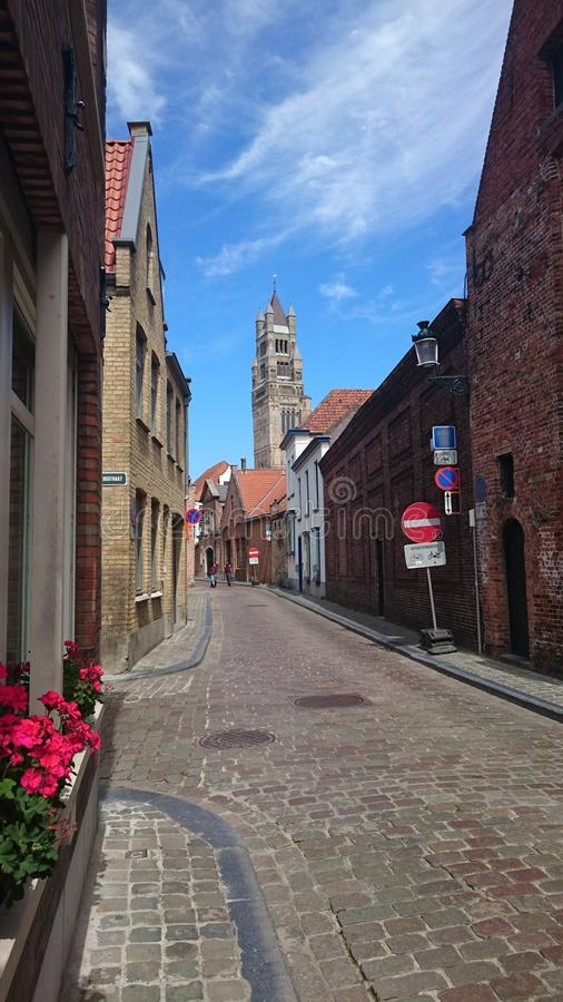 Bruige, Bélgica 2 foto de stock royalty free
