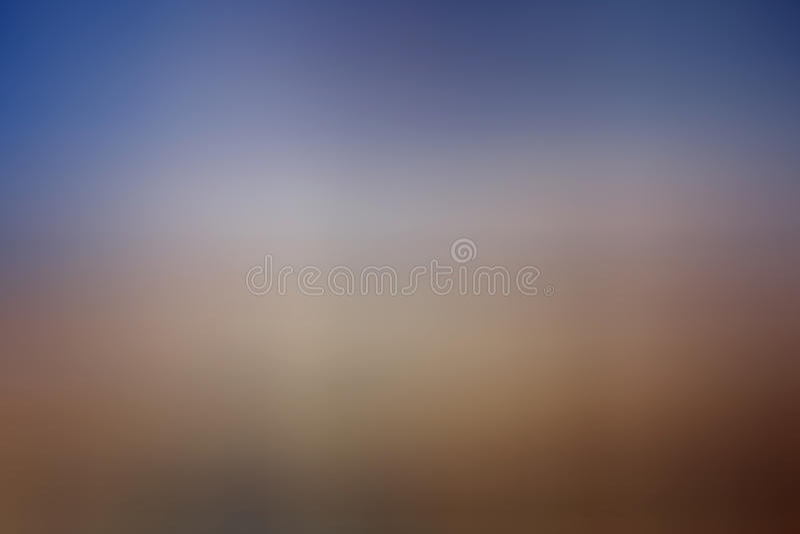 Bruin-blauwe pastelkleurgradiënt stock foto