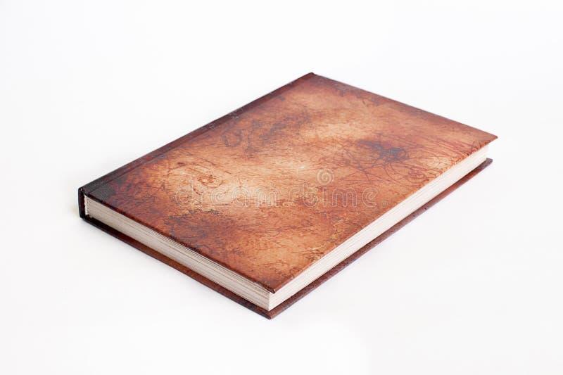 Bruin boek stock afbeeldingen