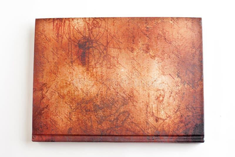 Bruin boek stock foto