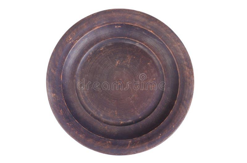 Bruin ceramisch keukengerei royalty-vrije stock fotografie