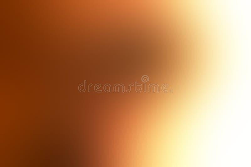 Bruin in de schaduw gesteld abstract onduidelijk beeldbehang als achtergrond, vectorillustratie stock illustratie