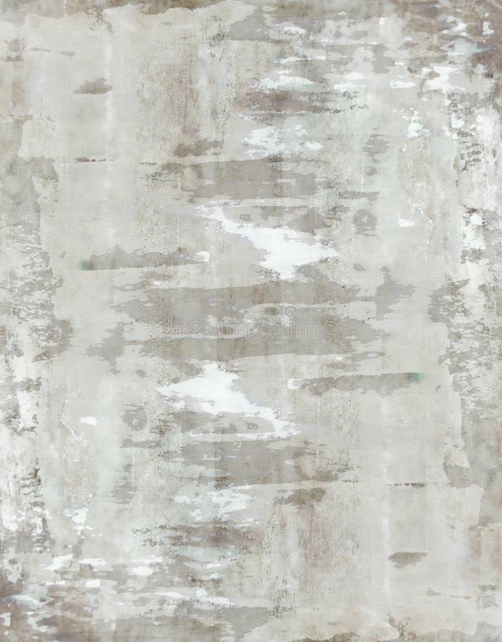 Bruin en Beige Abstract Art Painting royalty-vrije stock fotografie