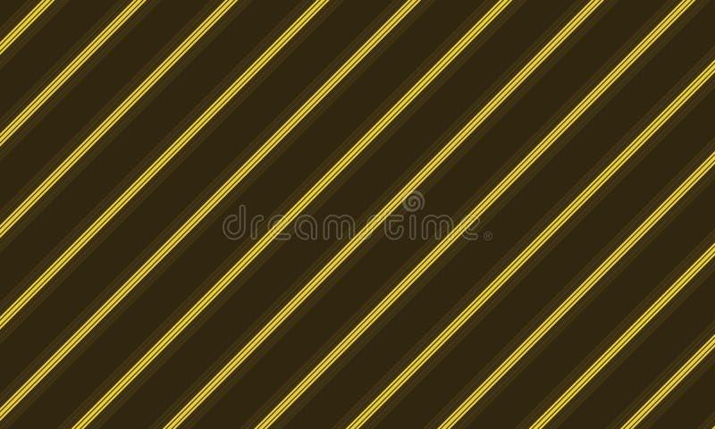 Bruin en geel lijnontwerp royalty-vrije stock foto
