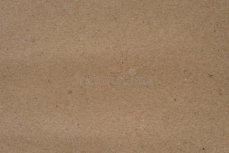 Bruin en geweven Ambachtdocument stock foto