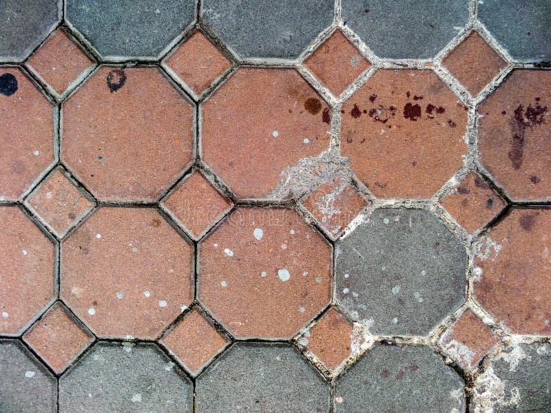 Bruin en grijs van blok stock afbeeldingen