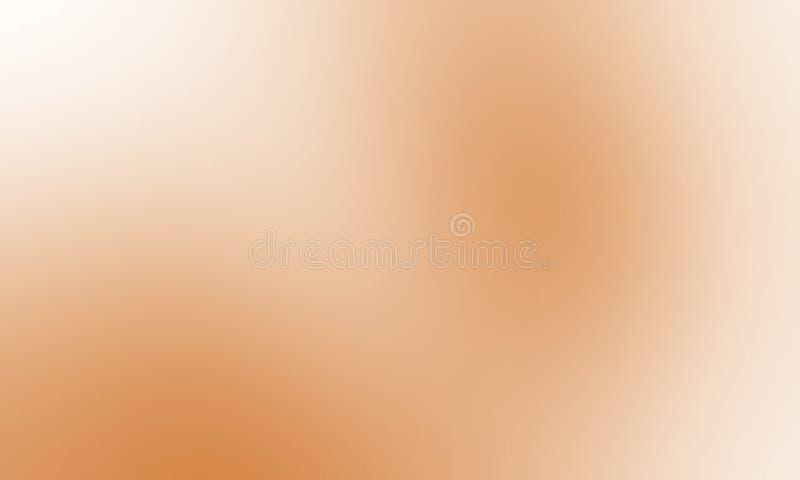Bruin en wit pastelkleur in de schaduw gesteld onduidelijk beeldbehang als achtergrond stock illustratie