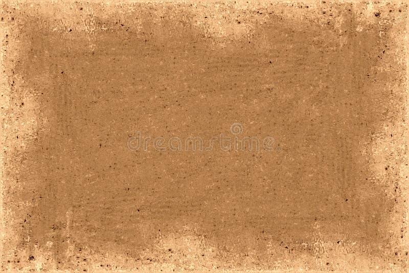 Bruin Frame vector illustratie