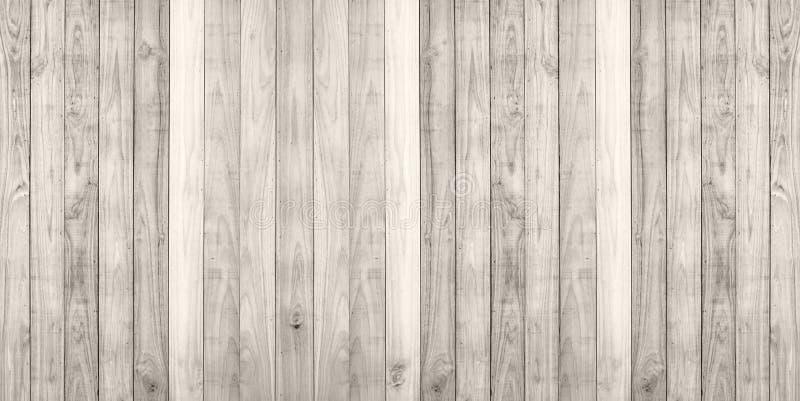 Bruin houten de textuur van de plankmuur panorama als achtergrond stock fotografie