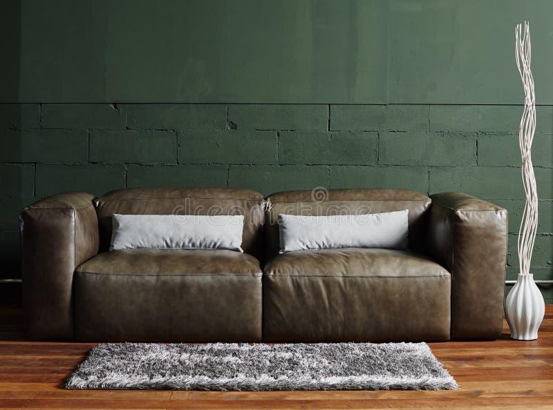 Bruin meubilair stock afbeelding