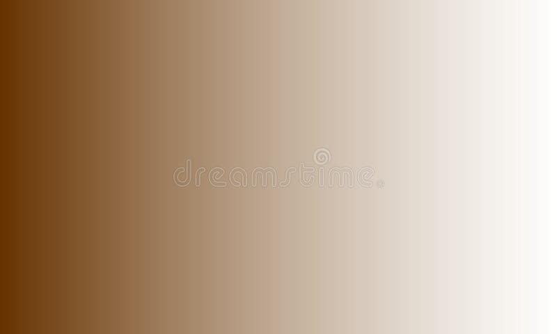 Bruin onduidelijk beeld in de schaduw gesteld behang als achtergrond, vectorillustratie stock illustratie