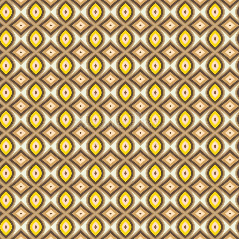 Bruin overhemds naadloos patroon royalty-vrije illustratie