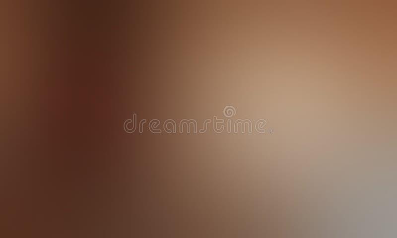 Bruin pastelkleur in de schaduw gesteld abstract onduidelijk beeldbehang als achtergrond, vectorillustratie vector illustratie