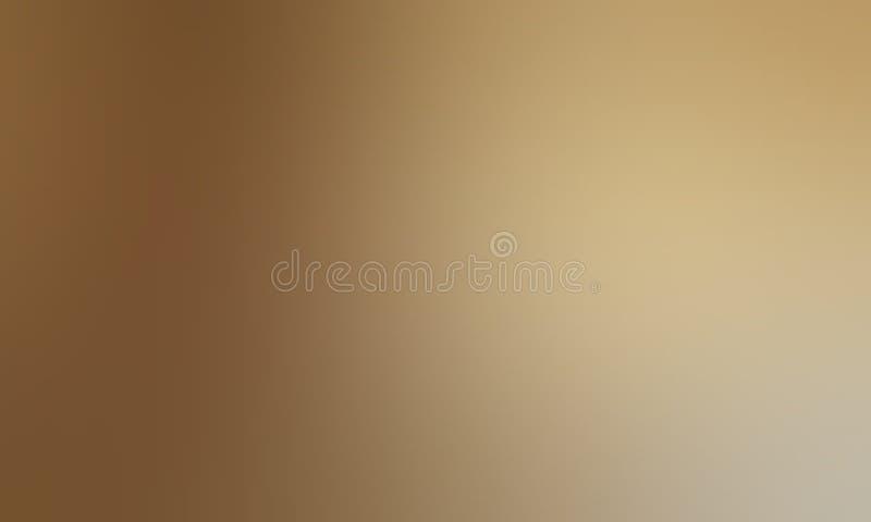 Bruin pastelkleur in de schaduw gesteld abstract onduidelijk beeldbehang als achtergrond, vectorillustratie stock illustratie