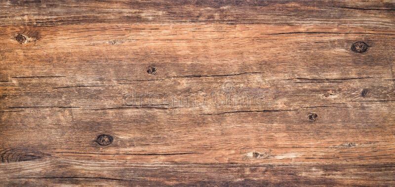 Bruin rustiek ruw hout voor achtergrond royalty-vrije stock foto's