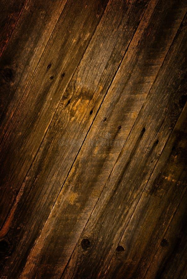Bruin schuurhout stock foto