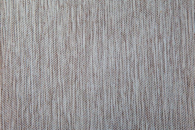 Bruin stoffencanvas voor stofferingsmeubilair royalty-vrije stock afbeelding