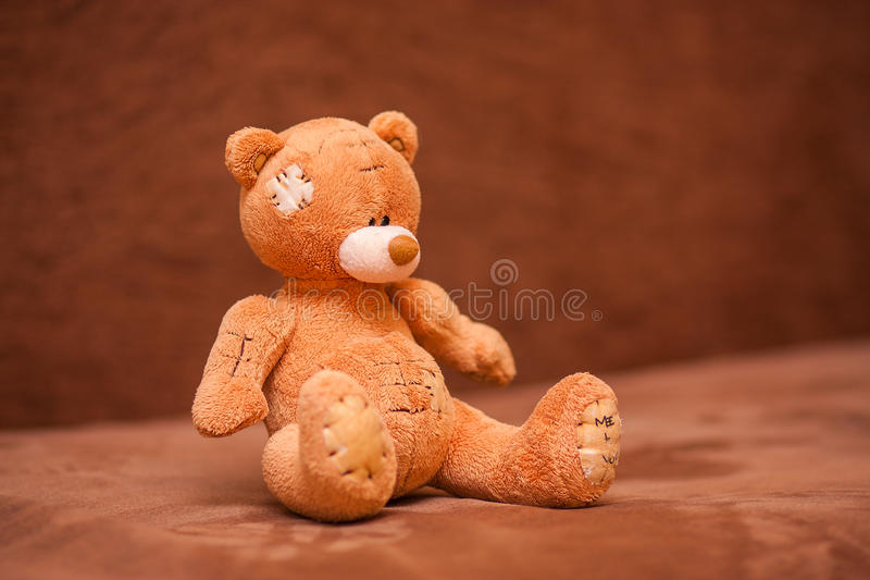 Bruin Teddy Bear stock afbeeldingen