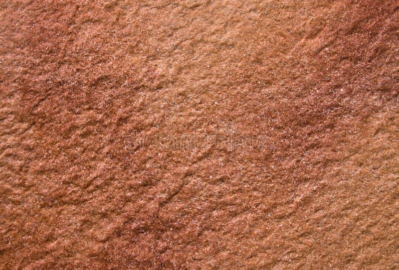 Bruinachtige rode steenstructuur royalty-vrije stock fotografie