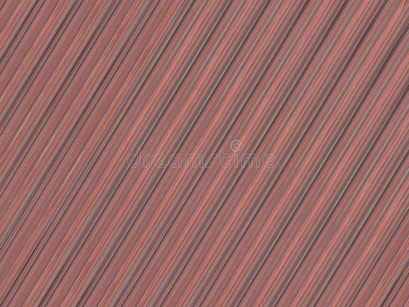 Bruine abstracte van het het beeld houten paneel van het achtergrondtextuurvernisje de rand schuine lijn stock illustratie