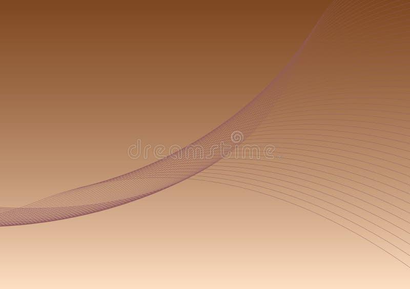 Bruine achtergrond 1 - vector illustratie