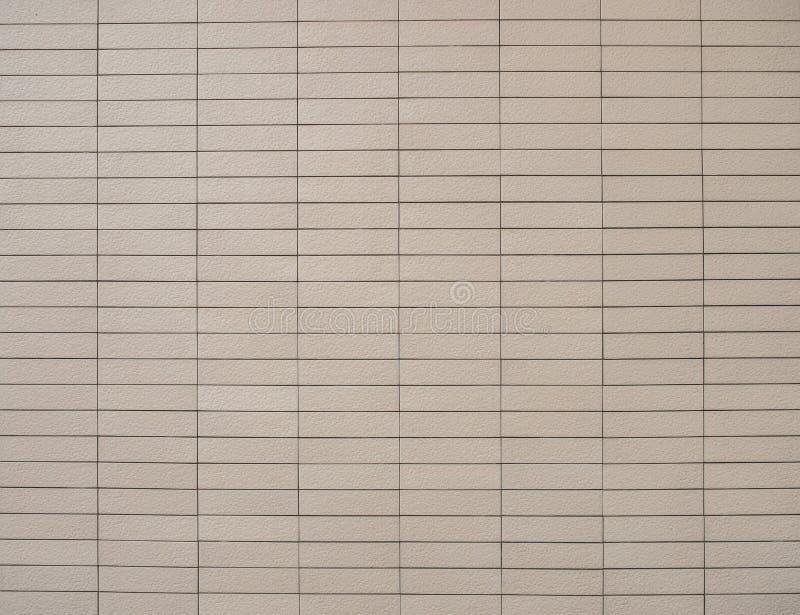 Bruine Bakstenen muurachtergrond royalty-vrije stock afbeeldingen