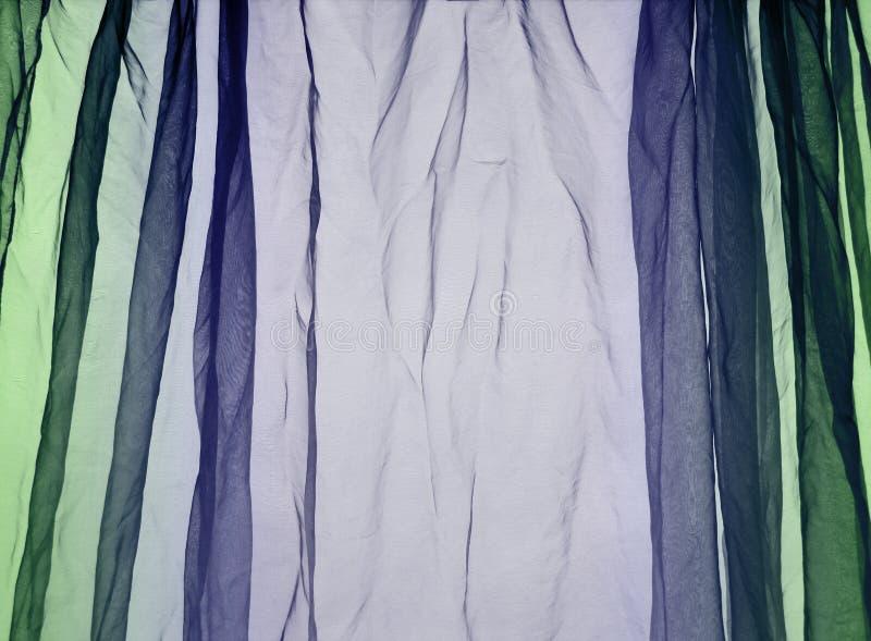 Bruine de achtergrond van het voilegordijn royalty-vrije stock fotografie