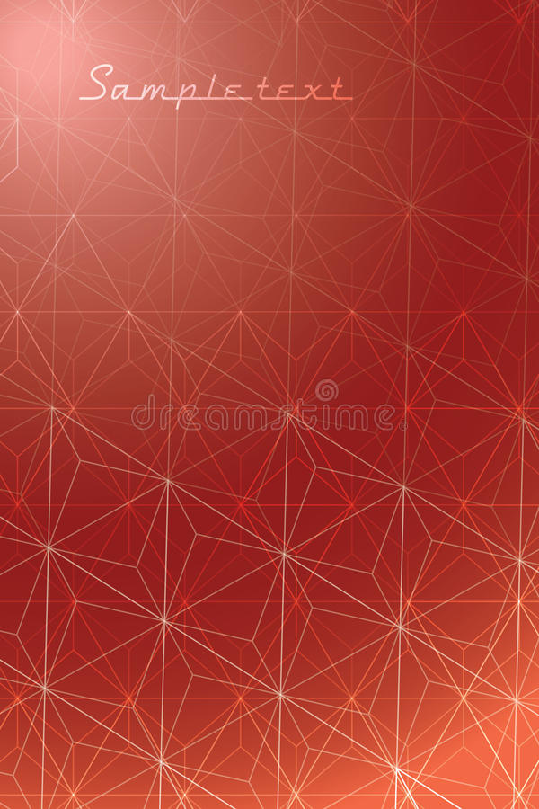 Bruine Diamanten stock illustratie