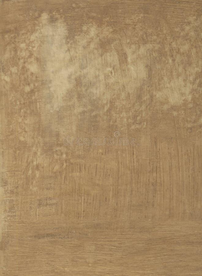 Bruine het Schilderen Textuur vector illustratie