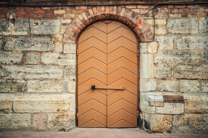 Bruine houten stock foto