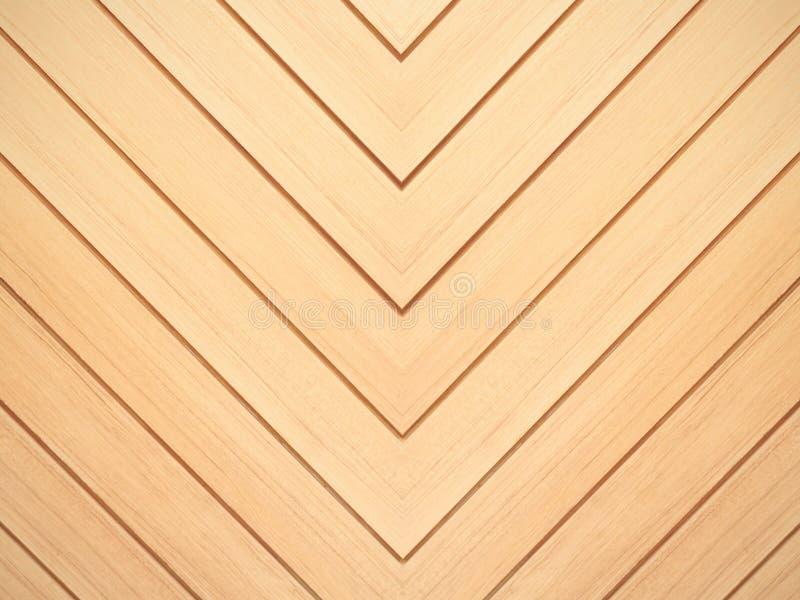 Bruine houten achtergrond Het patroontextuur van de chevron natuurlijke eiken vloer royalty-vrije stock afbeeldingen