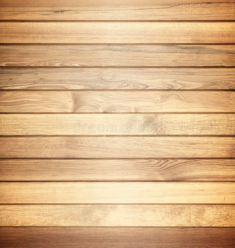 Bruine houten het patroonachtergrond van de textuurmuur stock afbeelding
