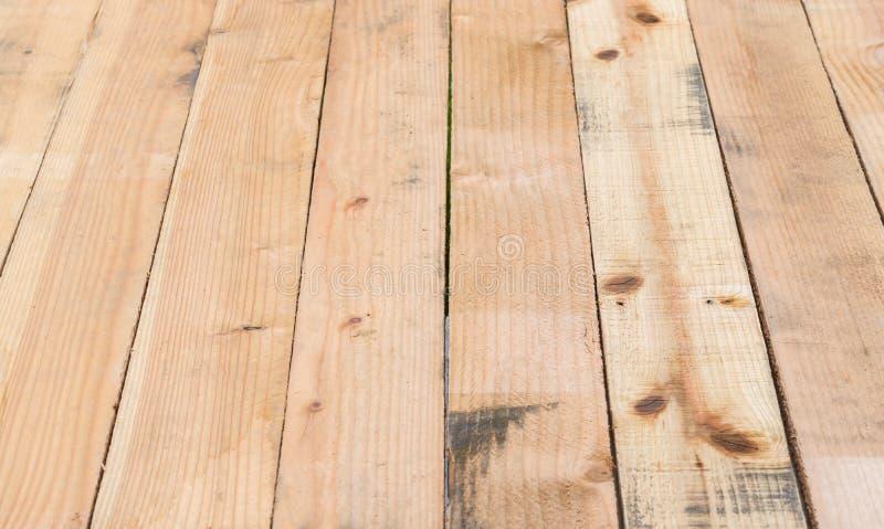Bruine houten planktextuur royalty-vrije stock foto
