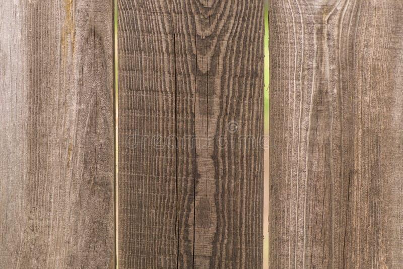 Bruine houten textuur, omheiningsraad, achtergrond royalty-vrije stock foto