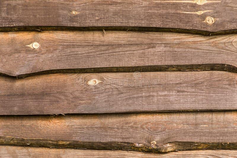 Bruine houten textuur, omheiningsraad, achtergrond stock afbeeldingen