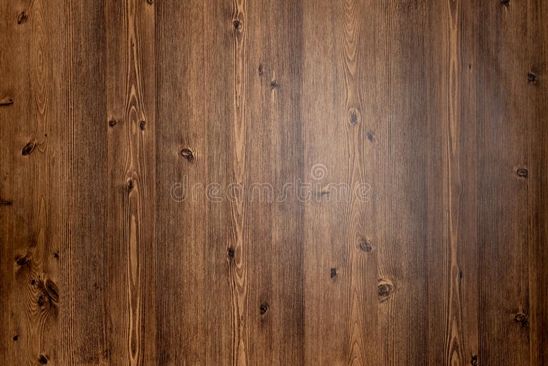 Bruine houten textuurachtergrond die uit natuurlijke boom komen Houten paneel met mooie patronen Ruimte voor uw werk royalty-vrije stock afbeelding
