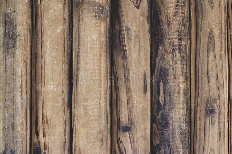 Bruine houten textuurachtergrond Uitstekend, abstract, leeg malplaatje stock fotografie