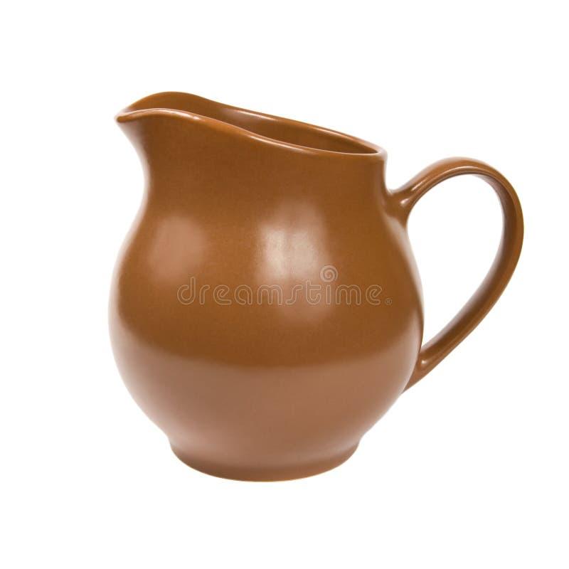 Bruine kruik. royalty-vrije stock afbeelding