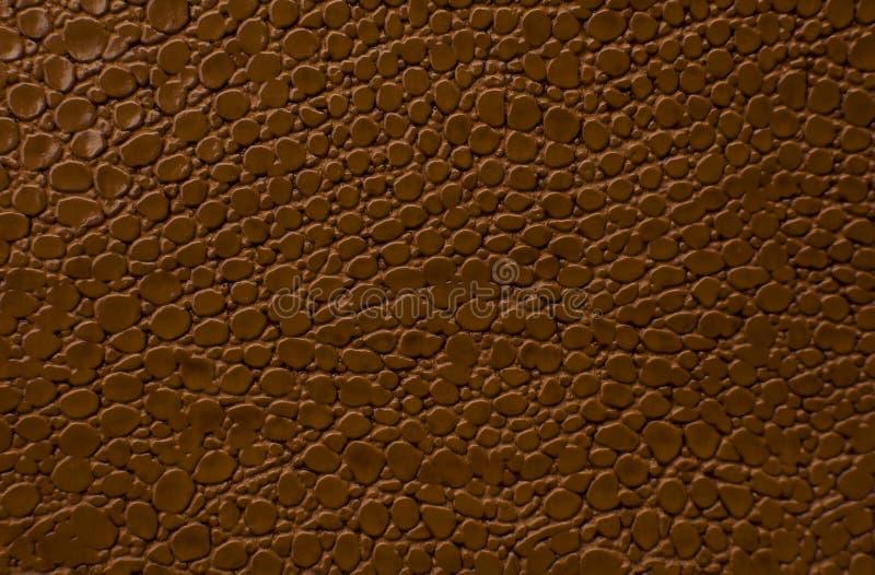 Bruine leertextuur als achtergrond stock afbeeldingen
