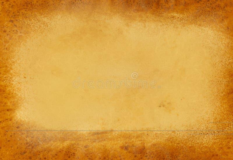 Bruine Lege Achtergrond stock afbeelding