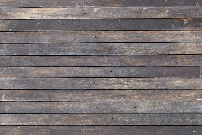 Bruine oude houten de textuurachtergrond van de plankmuur royalty-vrije stock foto's