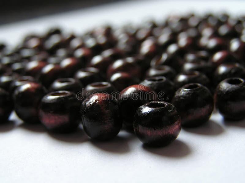 Download Bruine parels stock foto. Afbeelding bestaande uit draad - 36036