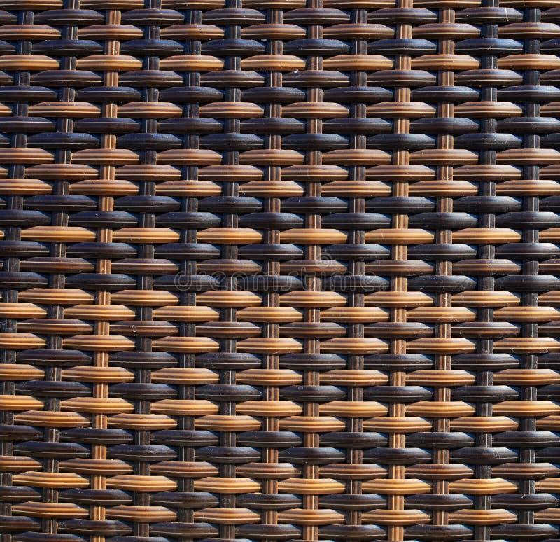 Bruine rieten houten textuur stock illustratie