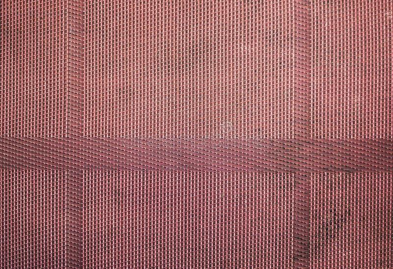 Bruine Rieten Patroontextuur en Achtergrond met verweven Hout of Rotanmateriaal vector illustratie