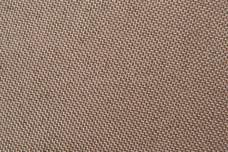 Bruine stoffentextuur royalty-vrije stock foto