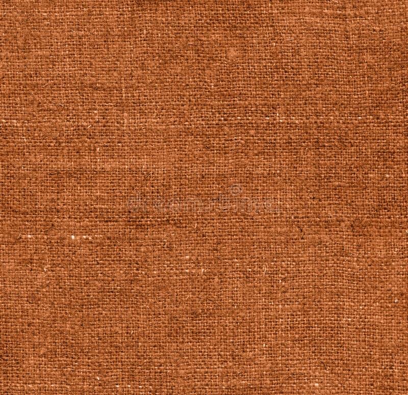 Bruine stoffentextuur voor achtergrond royalty-vrije stock afbeeldingen