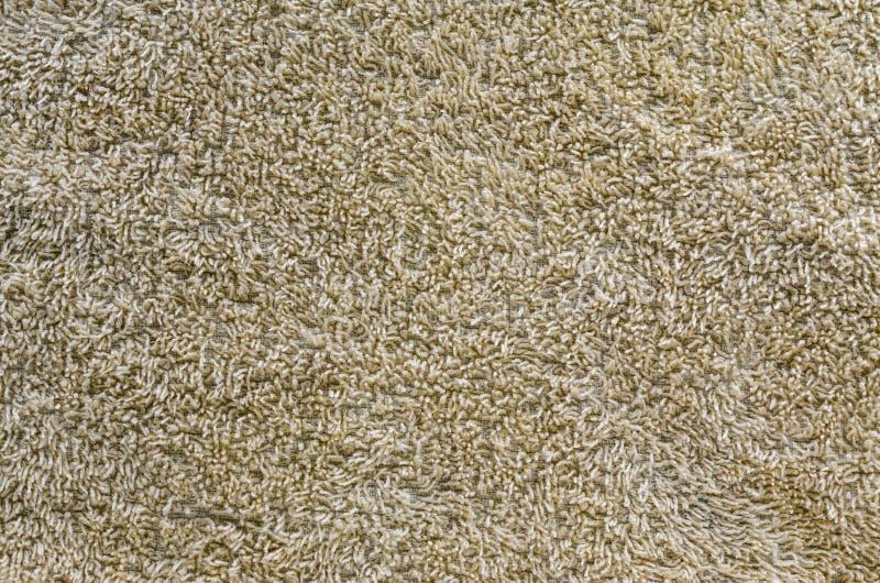 Bruine tapijttextuur stock afbeelding