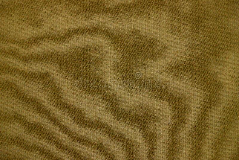 Bruine textuur van een stuk van doek royalty-vrije stock afbeelding