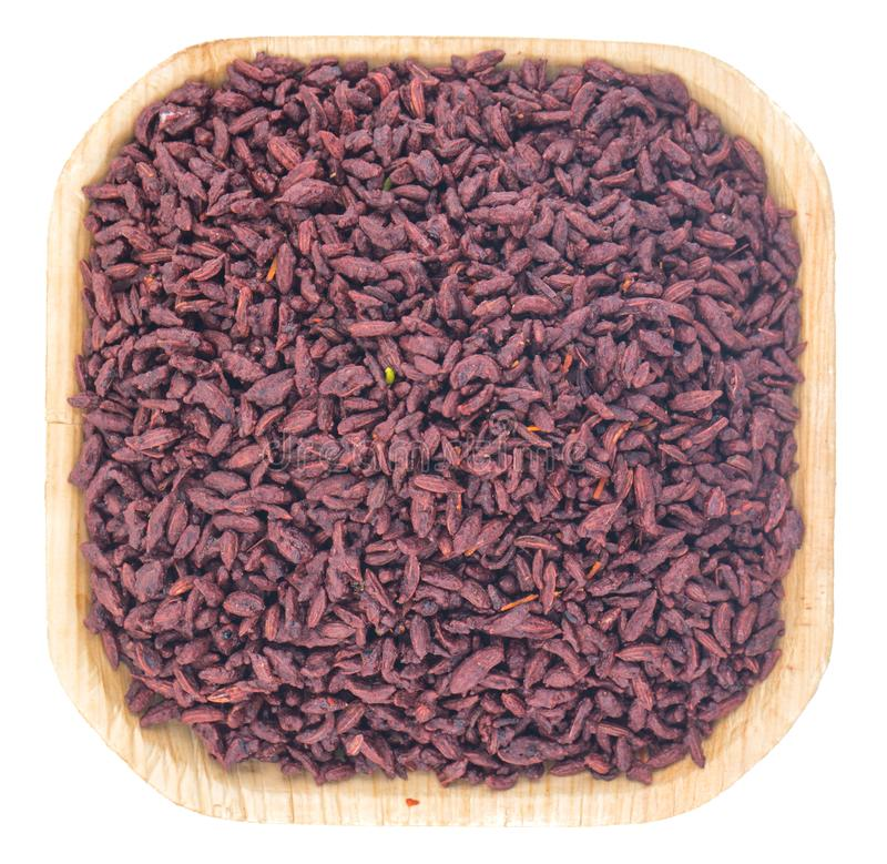 Bruine venkelzaden stock afbeelding